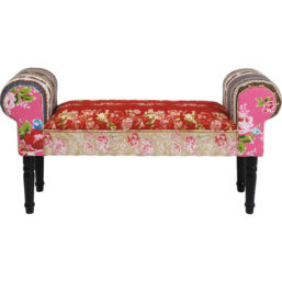 Bench Wing Patchwork Red