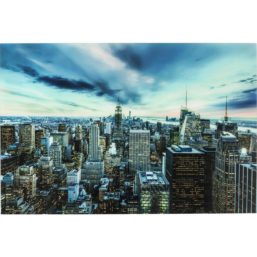 Picture Glass New York Sunset 160x120