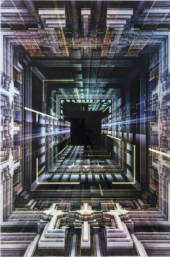 Picture Glass Science Fiction 120x80cm