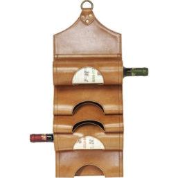 Bottle Rack Saddle Light Brown