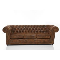 Sofa Oxford 3-Seater Vintage Eco