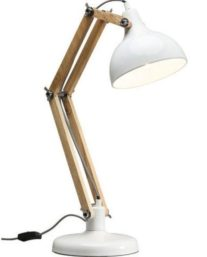 Table Lamp Work Station White