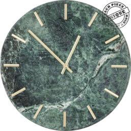 Wall Clock Desire Marble Green