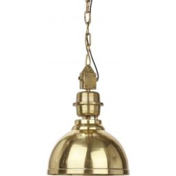 Manchester Taklampe Guld 35cm