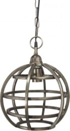 Bristol Taklampa Råsilver 30 cm