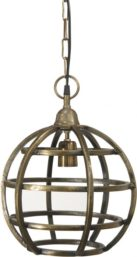 Bristol Taklampa Råmässing 30 cm