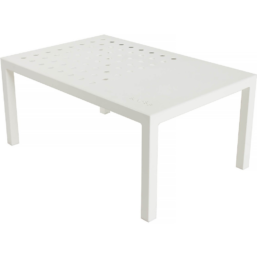 Frame Loungetable High, Fonn RAL9010 90x60x40 cm