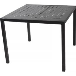 Frame Spisebord, Kull RAL9005 90x90x71 cm