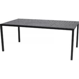Frame Spisebord, Kull RAL9005 180x98x71 cm