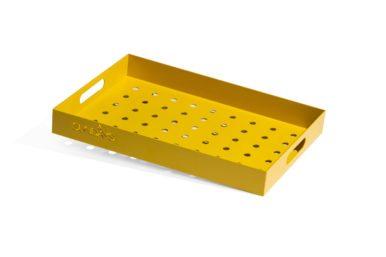 Frame Tray, løv RAL1023 50x35x6 cm