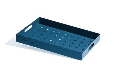 Frame Tray, Horisont RAL 5007 50x35x6 cm