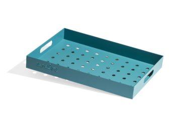 Frame Tray, Himmel RAL5018 50x35x6 cm