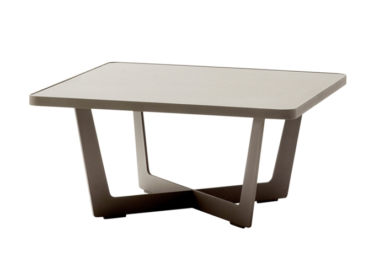 Time out sofabord, liten, Taupe, aluminium