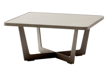 Time out sofabord, stor, Taupe, aluminium