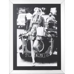 French Diva bilde med ramme