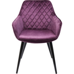 Chair with Armrest Harry Purple