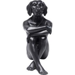 Deco Figurine Gangster Dog Black