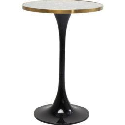 Bar Table San Remo Black Round 70cm