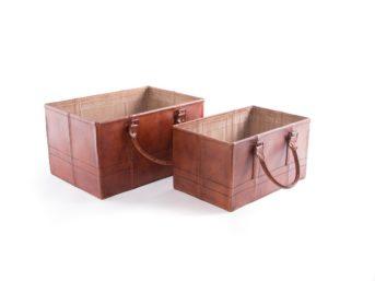 Skin basket set w/2 47/52cm