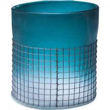 Vase Grata Turquoise