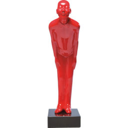 Deco Figurine Welcome Guests Red Small