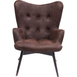 Arm Chair Angels Wings Dark Brown Eco