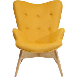 Arm Chair Angels Wings Yellow Eco