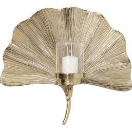 Vegg Lysholder Ginkgo Leaf 45cm