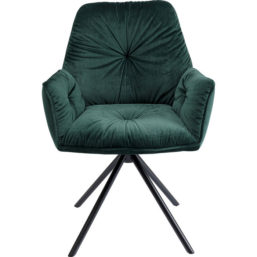 Chair With Armrest Mila Green
