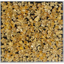 Dekor Ramme Gold Flower 60x60cm