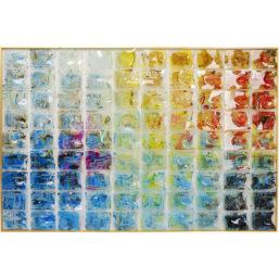 Dekor Ramme Rainbow Fields 100x150cm