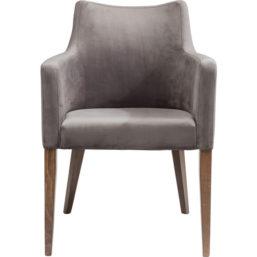 Karmstol Mode Velvet Grey