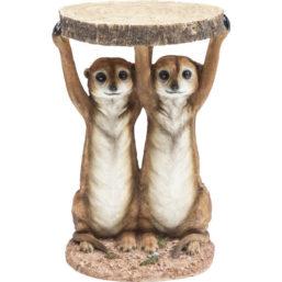 Sidebord Animal Meerkat Sisters