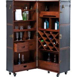 Bar Wardrobe Trunk Colonial