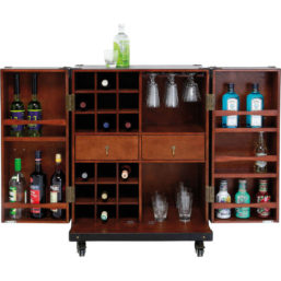 Bar Wardrobe Trunk Colonial Medium