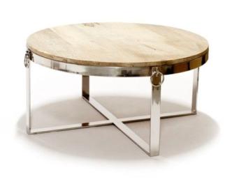 Sofabord Mango m/ringer Ø80cm