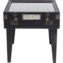Sidebord Collector Black 55x55cm