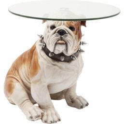 Sidebord Visible Watching Bulldog