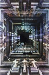 Glassbilde Science Fiction 120x180c