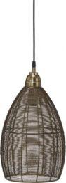 Taklampe Cartago Mässing 24cm