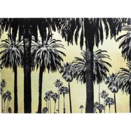 Glassbilde Metallic Palms 120x180cm