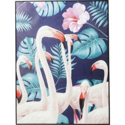 Bilde Touched Flamingo Road 122x92cm