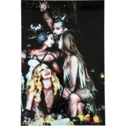 Glassbilde Sins Sexiness 150x100cm
