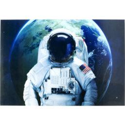Glassbilde Astronaut 120x180cm