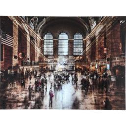 Glassbilde Grand Central Station 120x160cm