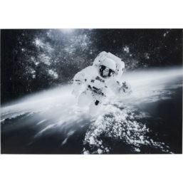 Glassbilde Man in the Sky 100x150cm